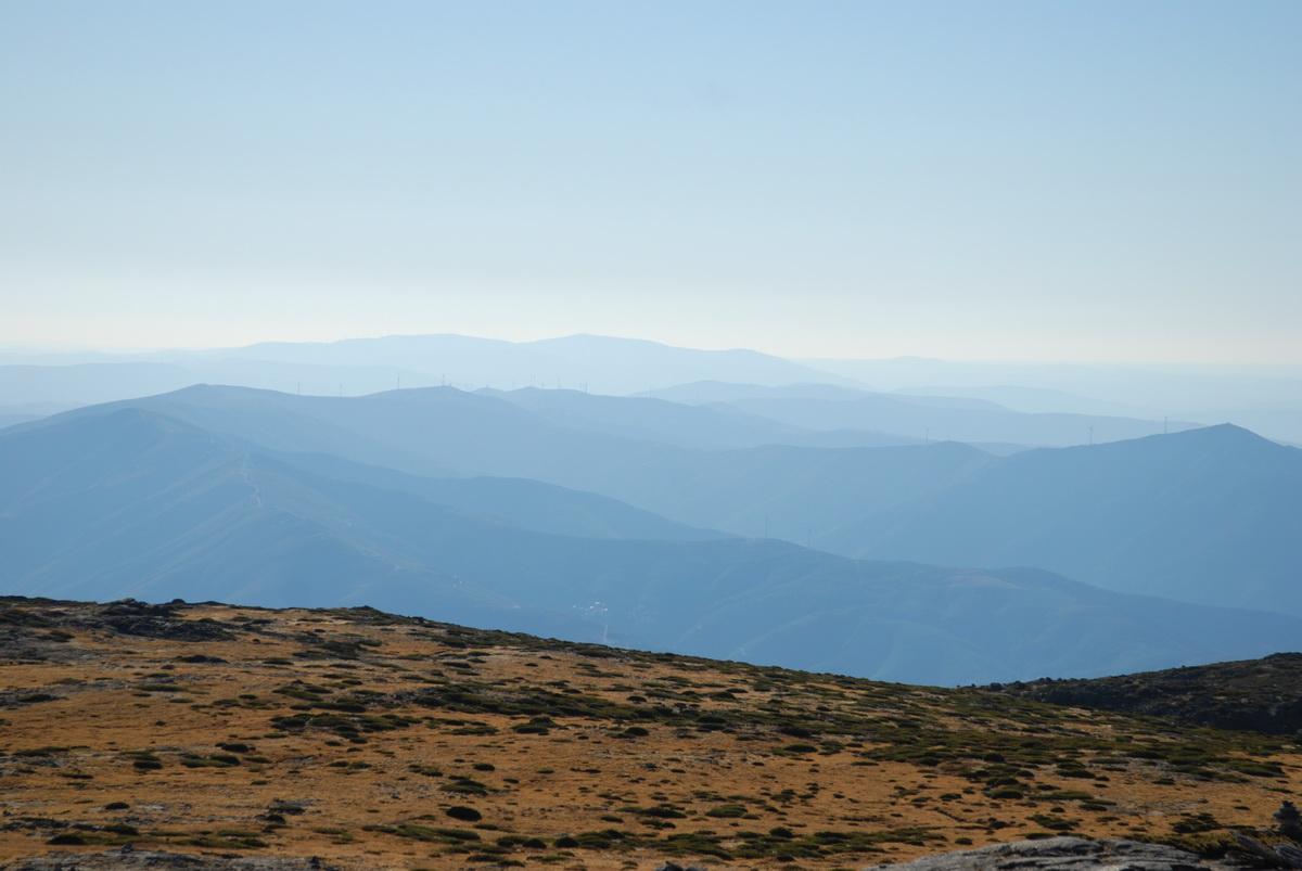 Serra da Estrela - зимой и осенью
